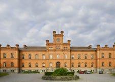 Vaasa, stadhuis royalty-vrije stock foto's