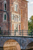 VAASSEN, NETHERLANDS - september 15, 2015: Front view of Castle Royalty Free Stock Photography