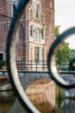 VAASSEN, NETHERLANDS - september 15, 2015: Front view of Castle Stock Image