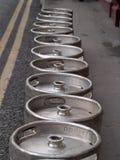 Vaatjes bier Stock Fotografie