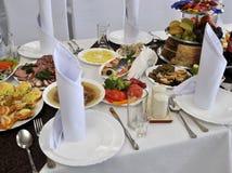 Vaatwerk voor banquet_4 Royalty-vrije Stock Afbeelding