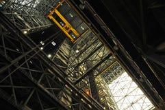 VAB的内部,肯尼迪航天中心 免版税图库摄影