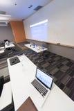Vacíelo sala de clase Fotografía de archivo libre de regalías