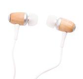Vacío de los auriculares Fotografía de archivo