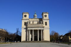 Vac church in Vac,Hungary,24 Nov 2015 Royalty Free Stock Photos