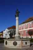 Vac city in Vac,Hungary,24 Nov 2015 Royalty Free Stock Photos