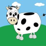 Vaca 2 dos desenhos animados Fotos de Stock Royalty Free