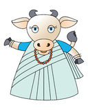 Vaca 2 Ilustração Stock
