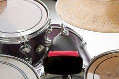 Vaca Bell y tambores Fotografía de archivo libre de regalías