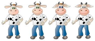 Vaca 4 - composto Ilustração Royalty Free