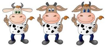 Vaca 7 - composto Ilustração do Vetor
