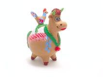 Vaca da argila Fotografia de Stock