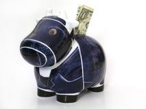 Vaca de efectivo Imágenes de archivo libres de regalías