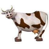 vaca de la historieta 3d Imagenes de archivo