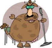 Vaca de pé ilustração royalty free