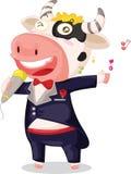 Vaca del canto Foto de archivo libre de regalías