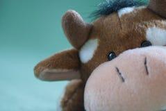 Vaca del juguete Imagen de archivo libre de regalías