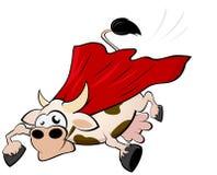 Vaca del vuelo   stock de ilustración