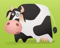 Vaca dos desenhos animados Fotos de Stock