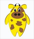 Vaca estranha engraçada Imagem de Stock