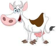 Vaca feliz stock de ilustración