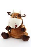 Vaca gorda loca divertida Imagen de archivo libre de regalías
