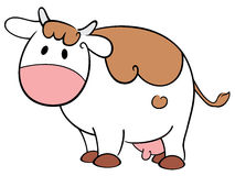 Vaca linda Fotografía de archivo