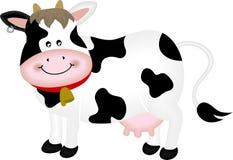 Vaca linda ilustración del vector