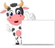 Vaca linda Imagen de archivo