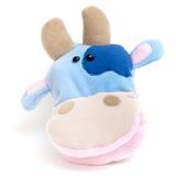 Vaca macia do brinquedo da mão Imagem de Stock