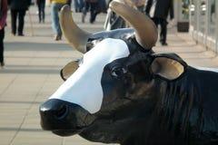 Vaca plástica Foto de archivo