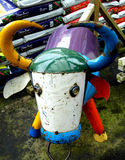 Vaca reciclada Foto de Stock