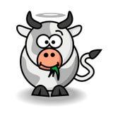 Vaca santamente ilustração do vetor