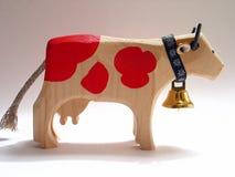 Vaca suiza Imagen de archivo libre de regalías