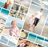 Vacaciones de familia del verano Fotografía de archivo libre de regalías