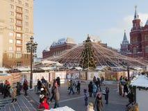 Vacaciones de invierno en el corazón de Rusia Imágenes de archivo libres de regalías