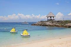 Vacaciones de JetSki Foto de archivo libre de regalías