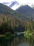 Vacaciones de la canoa Imagenes de archivo