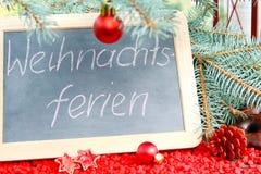 Vacaciones de la Navidad Imagen de archivo libre de regalías