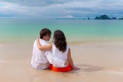 Vacaciones de la playa Imágenes de archivo libres de regalías
