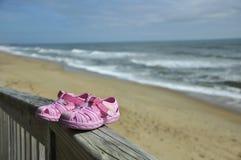 Vacaciones de la playa del niño Foto de archivo libre de regalías