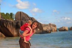 Vacaciones de la playa del verano Imagen de archivo libre de regalías