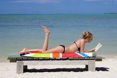 Vacaciones de lujo - paraíso tropical foto de archivo
