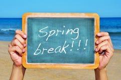 Vacaciones de primavera Imagen de archivo libre de regalías