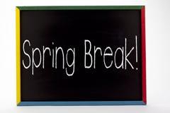 ¡Vacaciones de primavera! Imagenes de archivo