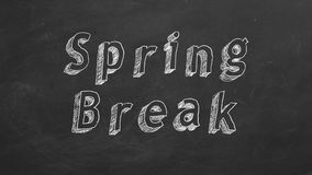 Vacaciones de primavera libre illustration