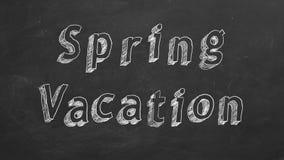 Vacaciones de primavera