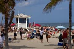 Vacaciones de primavera - pie Lauderdale, la Florida Fotografía de archivo libre de regalías