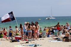 Vacaciones de primavera - pie Lauderdale, la Florida Foto de archivo