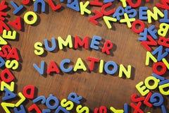 Vacaciones de verano Foto de archivo libre de regalías